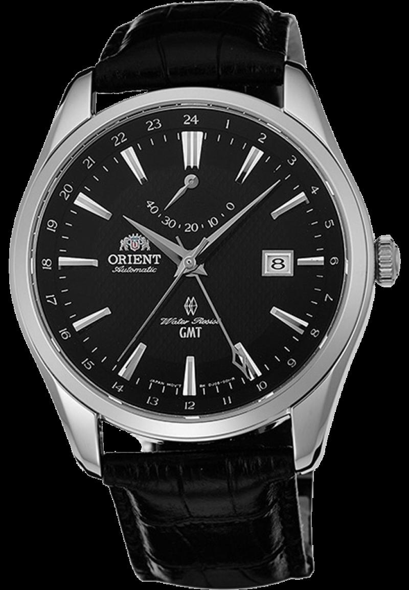 Orient DJ05002B / FDJ05002B0 - мужские наручные часыORIENT<br><br><br>Бренд: ORIENT<br>Модель: ORIENT DJ05002B<br>Артикул: DJ05002B<br>Вариант артикула: FDJ05002B0<br>Коллекция: None<br>Подколлекция: None<br>Страна: Япония<br>Пол: мужские<br>Тип механизма: механические<br>Механизм: 40P51<br>Количество камней: None<br>Автоподзавод: есть<br>Источник энергии: пружинный механизм<br>Срок службы элемента питания: None<br>Дисплей: стрелки<br>Цифры: отсутствуют<br>Водозащита: WR 50<br>Противоударные: None<br>Материал корпуса: нерж. сталь<br>Материал браслета: кожа<br>Материал безеля: None<br>Стекло: сапфировое<br>Антибликовое покрытие: None<br>Цвет корпуса: None<br>Цвет браслета: None<br>Цвет циферблата: None<br>Цвет безеля: None<br>Размеры: 42x12 мм<br>Диаметр: None<br>Диаметр корпуса: None<br>Толщина: None<br>Ширина ремешка: None<br>Вес: None<br>Спорт-функции: None<br>Подсветка: None<br>Вставка: None<br>Отображение даты: число<br>Хронограф: None<br>Таймер: None<br>Термометр: None<br>Хронометр: None<br>GPS: None<br>Радиосинхронизация: None<br>Барометр: None<br>Скелетон: None<br>Дополнительная информация: запас хода 40 часов<br>Дополнительные функции: индикатор запаса хода, второй часовой пояс