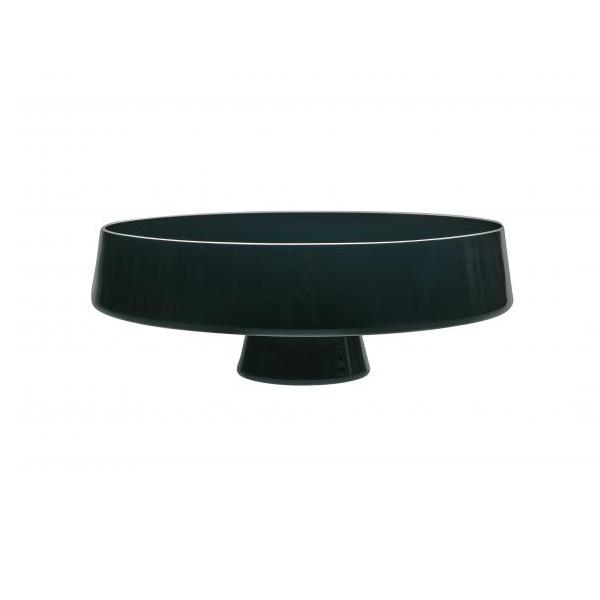 Чаша черная Стекло Casa Alegre для сервировки стола<br>Чаша черная Серия Коктейль<br>Материал: Стекло<br>Размеры: Высота 107 мм, диам.280 мм<br>Бренд: Casa Alegre<br>Производитель: Vista Alegre Atlantis, Португалия<br>