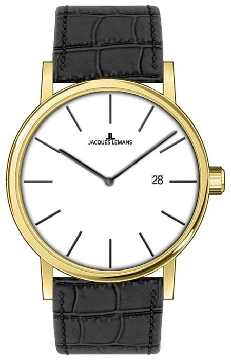 Jacques Lemans 1-1727D - унисекс наручные часы из коллекции ClassicJacques Lemans<br><br><br>Бренд: Jacques Lemans<br>Модель: Jacques Lemans 1-1727D<br>Артикул: 1-1727D<br>Вариант артикула: None<br>Коллекция: Classic<br>Подколлекция: None<br>Страна: Австрия<br>Пол: унисекс<br>Тип механизма: кварцевые<br>Механизм: None<br>Количество камней: None<br>Автоподзавод: None<br>Источник энергии: от батарейки<br>Срок службы элемента питания: None<br>Дисплей: стрелки<br>Цифры: отсутствуют<br>Водозащита: WR 50<br>Противоударные: None<br>Материал корпуса: нерж. сталь, IP покрытие: позолота (полное)<br>Материал браслета: кожа<br>Материал безеля: None<br>Стекло: минеральное<br>Антибликовое покрытие: None<br>Цвет корпуса: None<br>Цвет браслета: None<br>Цвет циферблата: None<br>Цвет безеля: None<br>Размеры: 40 мм<br>Диаметр: None<br>Диаметр корпуса: None<br>Толщина: None<br>Ширина ремешка: None<br>Вес: None<br>Спорт-функции: None<br>Подсветка: None<br>Вставка: None<br>Отображение даты: число<br>Хронограф: None<br>Таймер: None<br>Термометр: None<br>Хронометр: None<br>GPS: None<br>Радиосинхронизация: None<br>Барометр: None<br>Скелетон: None<br>Дополнительная информация: None<br>Дополнительные функции: None