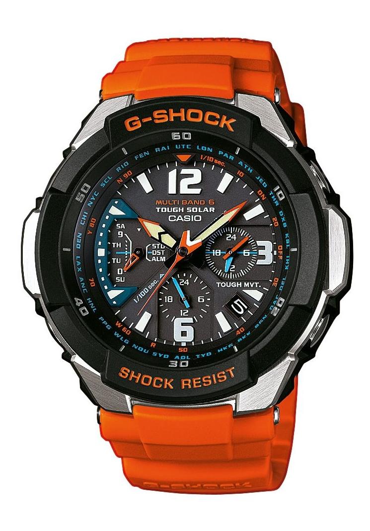 Casio G-SHOCK GW-3000M-4A / GW-3000M-4AER - оригинальные наручные часы