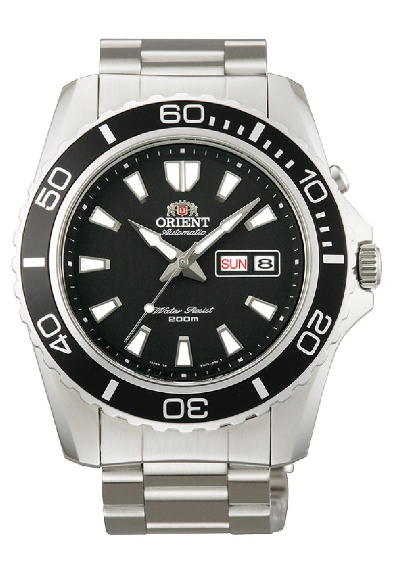 Orient EM75001B / FEM75001B6 - мужские наручные часыORIENT<br><br><br>Бренд: ORIENT<br>Модель: ORIENT EM75001B<br>Артикул: EM75001B<br>Вариант артикула: FEM75001B6<br>Коллекция: None<br>Подколлекция: None<br>Страна: Япония<br>Пол: мужские<br>Тип механизма: механические<br>Механизм: 46943<br>Количество камней: 21<br>Автоподзавод: есть<br>Источник энергии: пружинный механизм<br>Срок службы элемента питания: None<br>Дисплей: стрелки<br>Цифры: отсутствуют<br>Водозащита: WR 200<br>Противоударные: есть<br>Материал корпуса: нерж. сталь<br>Материал браслета: не указан<br>Материал безеля: None<br>Стекло: минеральное<br>Антибликовое покрытие: None<br>Цвет корпуса: None<br>Цвет браслета: None<br>Цвет циферблата: None<br>Цвет безеля: None<br>Размеры: 44x44 мм<br>Диаметр: None<br>Диаметр корпуса: None<br>Толщина: None<br>Ширина ремешка: None<br>Вес: None<br>Спорт-функции: None<br>Подсветка: стрелок<br>Вставка: None<br>Отображение даты: число, день недели<br>Хронограф: None<br>Таймер: None<br>Термометр: None<br>Хронометр: None<br>GPS: None<br>Радиосинхронизация: None<br>Барометр: None<br>Скелетон: None<br>Дополнительная информация: запас хода 40 часов<br>Дополнительные функции: None