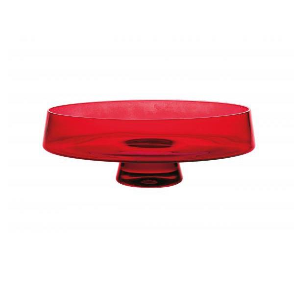 Чаша красная Стекло Casa Alegre для сервировки стола<br>Чаша красная Серия Коктейль<br>Материал: Стекло<br>Размер: Высота 107 мм, диам.280 мм<br>Бренд: Casa Alegre<br>Производитель: Vista Alegre Atlantis, Португалия<br>
