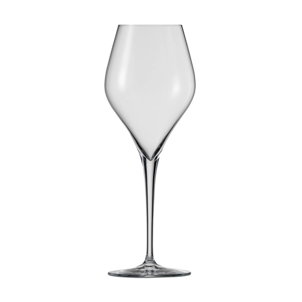 Набор из 6 бокалов для белого вина 316 мл SCHOTT ZWIESEL Finesse арт. 118 604-6Бокалы и стаканы<br>Набор из 6 бокалов для белого вина 316 мл SCHOTT ZWIESEL Finesse арт. 118 604-7<br><br>вид упаковки: подарочнаявысота (см): 22.2диаметр (см): 8.0материал: хрустальное стеклоназначение: для белого винаобъем (мл): 316предметов в наборе (штук): 6страна: Германия<br>Оригинальный дизайн винных бокалов серии Finesse привлекает внимание четкой геометрией чаши и высокой, сужающейся книзу ножкой, придающей изделию утонченную изысканность. Изделия коллекции изготовлены из высококачественного хрустального стекла, не содержащего бария и свинца по уникальной технологии Tritan Protect.<br>Благодаря использованию технологии Tritan бокалы серии Finesse получили такие свойства как высокая ударопрочность, легкость, чистейшая прозрачность и яркий блеск.<br>Элегантная коллекция, представляющая собой великолепный образец классического стиля и современного дизайна, включает в себя наборы бокалов для шампанского, красного и белого вина. Любой из этих изящных наборов достойно украсит любую сервировку, от повседневной до праздничной.<br>