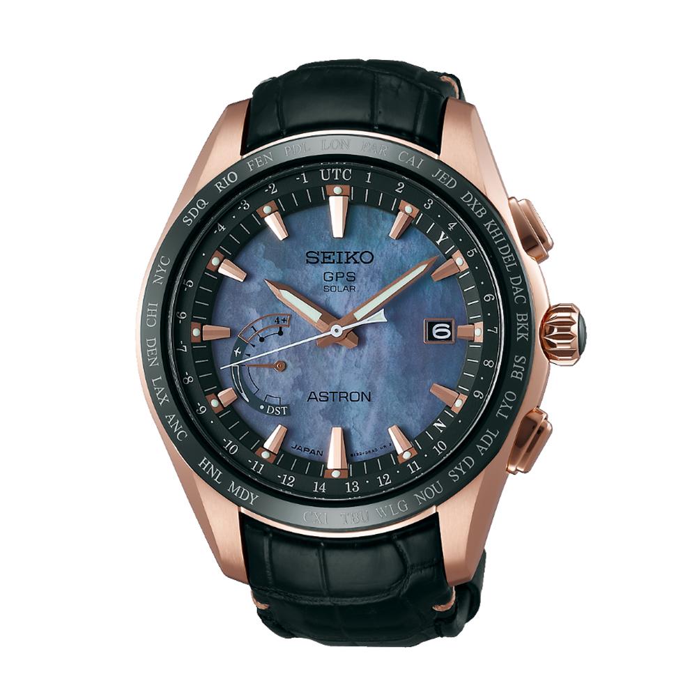 Наручные часы SeikoSeiko Astron<br>Ограниченная серия, посвященная звезде тенниса Новаку Джоковичу.<br>