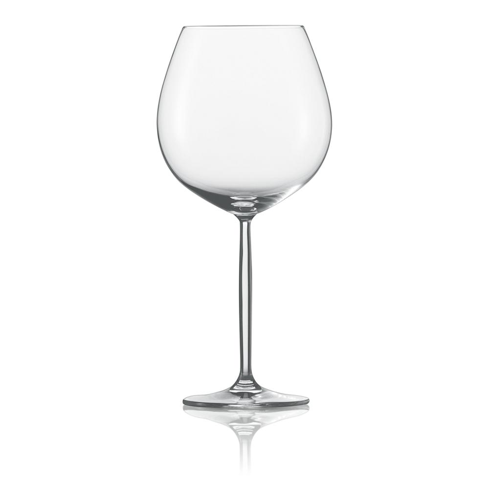 Набор из 2 бокалов для красного вина 840 мл SCHOTT ZWIESEL Diva арт. 104 596-2Бокалы и стаканы<br>Набор из 2 бокалов для красного вина 840 мл SCHOTT ZWIESEL Diva арт. 104 596-3<br><br>вид упаковки: подарочнаявысота (см): 24.8диаметр (см): 11.6материал: хрустальное стеклоназначение: для красного винаобъем (мл): 839предметов в наборе (штук): 2страна: Германия<br>Элегантные рюмки и бокалы на высоких тонких ножках серии Diva — воплощение классических форм и безупречного стиля. Эта красивая и практичная коллекция создана для разнообразных вин: белых и красных, молодых и зрелых, легких и крепких.<br>Изящный дизайн и удобные формы рюмок, бокалов и фужеров серии Diva позволит вам приятно насладиться любимым напитком, смакуя его маленькими глотками.<br>Кажущаяся хрупкость этих изделий обманчива: тритановое стекло, из которого они изготовлены, обладает невероятной прочностью, что позволяет использовать их ежедневно и мыть в посудомоечной машине, не опасаясь, что они разобьются или потеряют прозрачность и первозданный блеск.<br>Официальный продавец SCHOTT ZWIESEL<br>