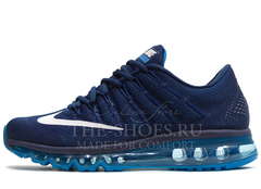 Кроссовки Мужские Nike Air Max 2016 Double Blue