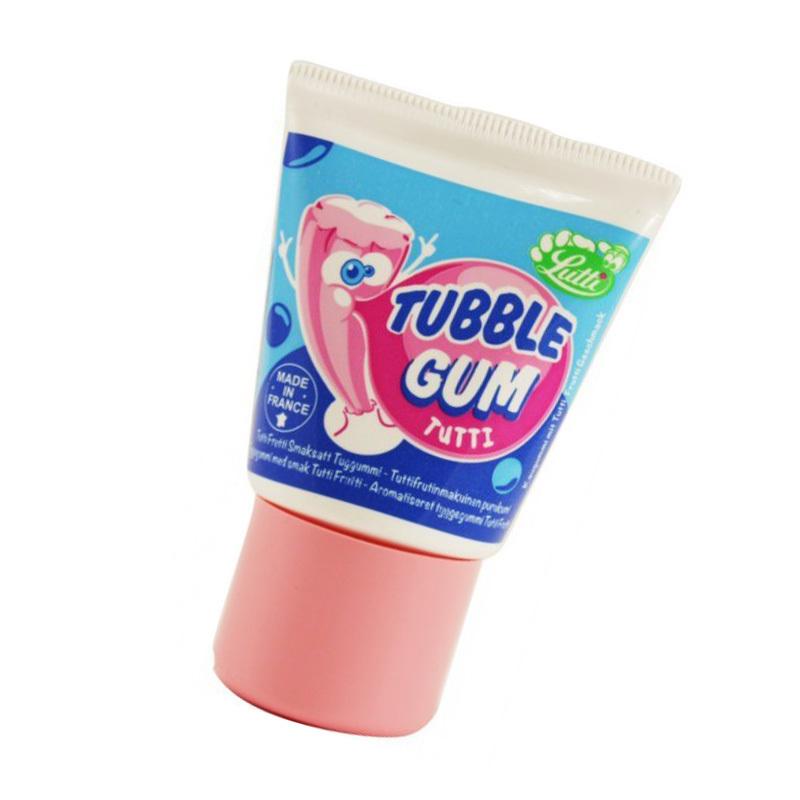 Жидкая жвачка TUBBLE GUM со вкусом тутти-фруттиСвадьба<br>Производство:Франция<br>Вес: 36 гр<br>