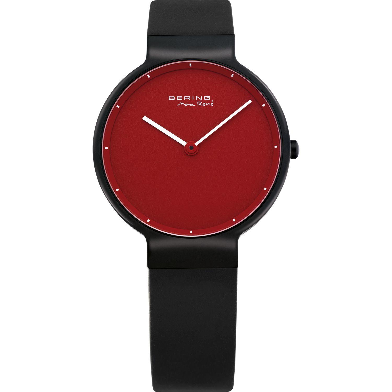Bering 12631-823 - унисекс наручные часы из коллекции ClassicBering<br>женские, сапфировое стекло, корпус из титана с покрытием pvd черного цвета ,  в комплекте 2 ремешка из резины черного и красного цвета, циферблат красного цвета<br><br>Бренд: Bering<br>Модель: Bering 12631-823<br>Артикул: 12631-823<br>Вариант артикула: ber-12631-823<br>Коллекция: Classic<br>Подколлекция: None<br>Страна: Дания<br>Пол: унисекс<br>Тип механизма: кварцевые<br>Механизм: None<br>Количество камней: None<br>Автоподзавод: None<br>Источник энергии: от батарейки<br>Срок службы элемента питания: None<br>Дисплей: стрелки<br>Цифры: отсутствуют<br>Водозащита: WR 50<br>Противоударные: None<br>Материал корпуса: титан<br>Материал браслета: каучук<br>Материал безеля: None<br>Стекло: сапфировое<br>Антибликовое покрытие: None<br>Цвет корпуса: None<br>Цвет браслета: None<br>Цвет циферблата: None<br>Цвет безеля: None<br>Размеры: 31 мм<br>Диаметр: None<br>Диаметр корпуса: None<br>Толщина: None<br>Ширина ремешка: None<br>Вес: None<br>Спорт-функции: None<br>Подсветка: None<br>Вставка: None<br>Отображение даты: None<br>Хронограф: None<br>Таймер: None<br>Термометр: None<br>Хронометр: None<br>GPS: None<br>Радиосинхронизация: None<br>Барометр: None<br>Скелетон: None<br>Дополнительная информация: None<br>Дополнительные функции: None