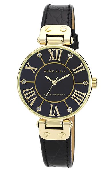 Anne Klein 1396BMBK - женские наручные часы из коллекции RingAnne Klein<br><br><br>Бренд: Anne Klein<br>Модель: Anne Klein 1396 BMBK<br>Артикул: 1396BMBK<br>Вариант артикула: None<br>Коллекция: Ring<br>Подколлекция: None<br>Страна: США<br>Пол: женские<br>Тип механизма: кварцевые<br>Механизм: None<br>Количество камней: None<br>Автоподзавод: None<br>Источник энергии: от батарейки<br>Срок службы элемента питания: None<br>Дисплей: стрелки<br>Цифры: римские<br>Водозащита: WR 30<br>Противоударные: None<br>Материал корпуса: не указан, PVD покрытие (полное)<br>Материал браслета: кожа<br>Материал безеля: None<br>Стекло: минеральное<br>Антибликовое покрытие: None<br>Цвет корпуса: None<br>Цвет браслета: None<br>Цвет циферблата: None<br>Цвет безеля: None<br>Размеры: 34 мм<br>Диаметр: None<br>Диаметр корпуса: None<br>Толщина: None<br>Ширина ремешка: None<br>Вес: None<br>Спорт-функции: None<br>Подсветка: None<br>Вставка: кристаллы Swarovski<br>Отображение даты: None<br>Хронограф: None<br>Таймер: None<br>Термометр: None<br>Хронометр: None<br>GPS: None<br>Радиосинхронизация: None<br>Барометр: None<br>Скелетон: None<br>Дополнительная информация: None<br>Дополнительные функции: None