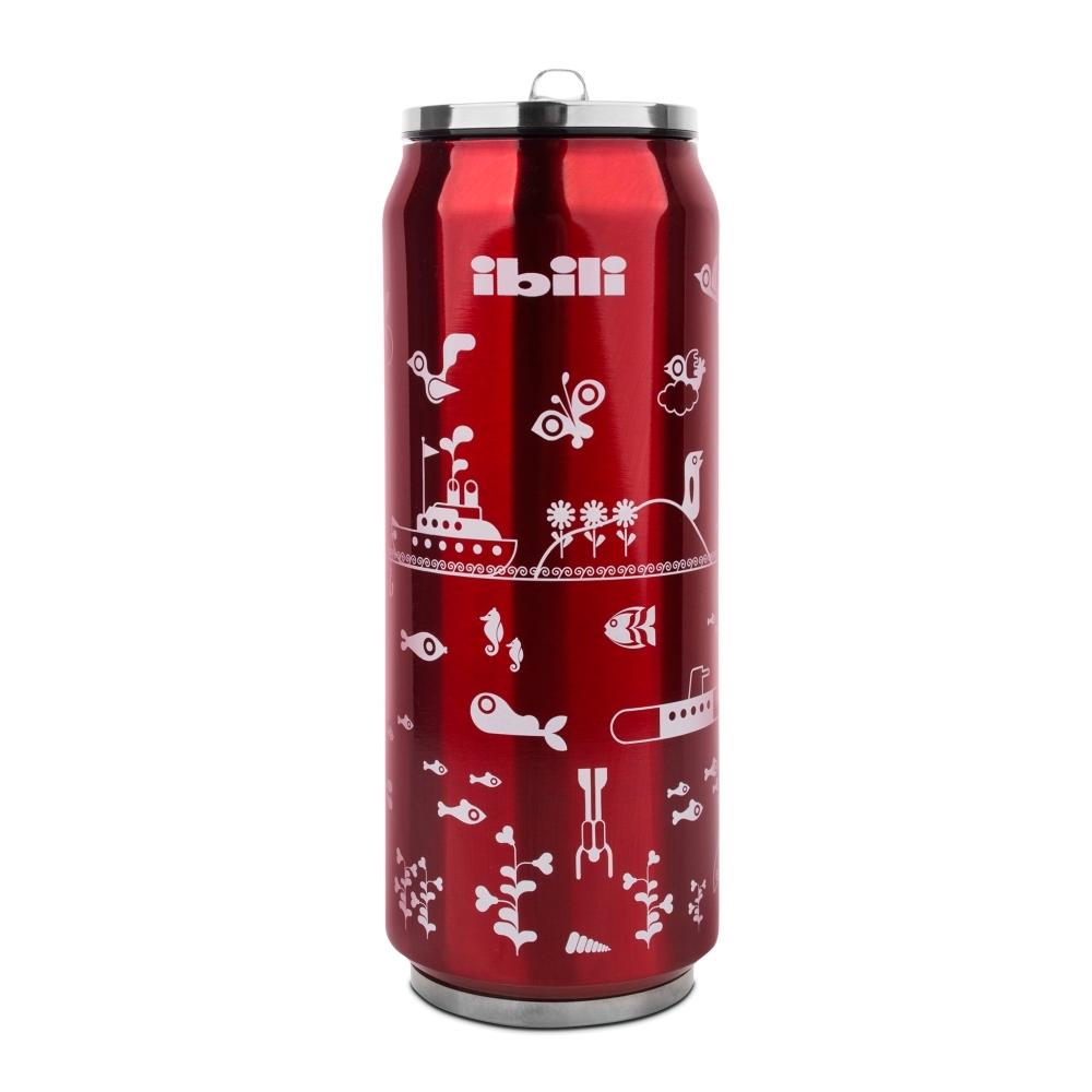 Термокружка Жестяная банка, цвет - красный, 500 мл IBILI Termos арт. 796905Термокружки<br>материал корпуса:нержавеющая стальобъем (мл):500предметов в наборе (штук):1слив:отверстиестрана:Испанияудержание тепла (час):12удержание холода (час):6цвет:красный<br><br>Куда бы вы ни отправлялись: на работу, в путешествие или за город — изделия этой серии надолго сохранят температуру пищи и напитков, а также все их вкусовые свойства. Кружка-термос, выполненная из цветного сверхпрочного пластика, пригодится вам в офисе, поддерживая оптимальную температуру чая или кофе в течение нескольких часов, а плотно прилегающая крышка не даст напитку пролиться.<br>Компактные стальные термосы различного объема для горячих блюд и напитков позволят их владельцу в любое удобное время отменно пообедать домашней пищей. При этом крышка термоса отлично послужит тарелкой или стаканом, а блюда и напитки будут такими же свежими и горячими, будто их только что приготовили.<br>