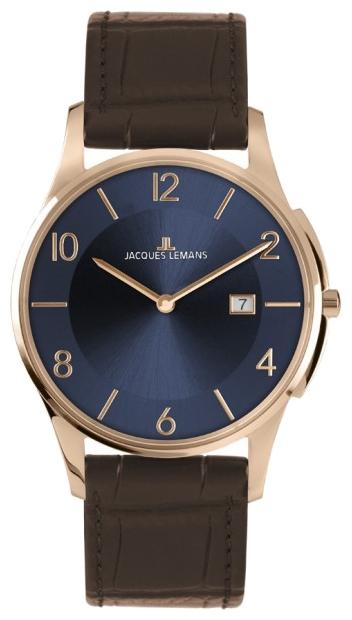 Jacques Lemans 1-1777U - унисекс наручные часы из коллекции LondonJacques Lemans<br><br><br>Бренд: Jacques Lemans<br>Модель: Jacques Lemans 1-1777U<br>Артикул: 1-1777U<br>Вариант артикула: None<br>Коллекция: London<br>Подколлекция: None<br>Страна: Австрия<br>Пол: унисекс<br>Тип механизма: кварцевые<br>Механизм: None<br>Количество камней: None<br>Автоподзавод: None<br>Источник энергии: от батарейки<br>Срок службы элемента питания: None<br>Дисплей: стрелки<br>Цифры: арабские<br>Водозащита: WR 50<br>Противоударные: None<br>Материал корпуса: нерж. сталь, IP покрытие (полное)<br>Материал браслета: кожа<br>Материал безеля: None<br>Стекло: минеральное<br>Антибликовое покрытие: None<br>Цвет корпуса: None<br>Цвет браслета: None<br>Цвет циферблата: None<br>Цвет безеля: None<br>Размеры: 38 мм<br>Диаметр: None<br>Диаметр корпуса: None<br>Толщина: None<br>Ширина ремешка: None<br>Вес: None<br>Спорт-функции: None<br>Подсветка: None<br>Вставка: None<br>Отображение даты: число<br>Хронограф: None<br>Таймер: None<br>Термометр: None<br>Хронометр: None<br>GPS: None<br>Радиосинхронизация: None<br>Барометр: None<br>Скелетон: None<br>Дополнительная информация: None<br>Дополнительные функции: None