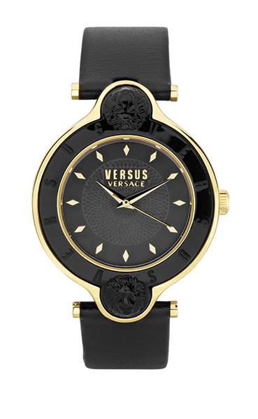 Versus SCF03 0016 - женские наручные часы из коллекции NEW LOGOVersus<br><br><br>Бренд: Versus<br>Модель: Versus SCF03 0016<br>Артикул: SCF03 0016<br>Вариант артикула: None<br>Коллекция: NEW LOGO<br>Подколлекция: None<br>Страна: Италия<br>Пол: женские<br>Тип механизма: кварцевые<br>Механизм: Citizen 2035<br>Количество камней: None<br>Автоподзавод: None<br>Источник энергии: от батарейки<br>Срок службы элемента питания: None<br>Дисплей: стрелки<br>Цифры: отсутствуют<br>Водозащита: WR 30<br>Противоударные: None<br>Материал корпуса: нерж. сталь, IP покрытие (полное)<br>Материал браслета: кожа<br>Материал безеля: None<br>Стекло: минеральное<br>Антибликовое покрытие: None<br>Цвет корпуса: золотой<br>Цвет браслета: черный<br>Цвет циферблата: None<br>Цвет безеля: None<br>Размеры: None<br>Диаметр: None<br>Диаметр корпуса: 34<br>Толщина: None<br>Ширина ремешка: None<br>Вес: None<br>Спорт-функции: None<br>Подсветка: None<br>Вставка: None<br>Отображение даты: None<br>Хронограф: None<br>Таймер: None<br>Термометр: None<br>Хронометр: None<br>GPS: None<br>Радиосинхронизация: None<br>Барометр: None<br>Скелетон: None<br>Дополнительная информация: None<br>Дополнительные функции: None