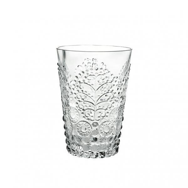 Стакан, прозрачное стекло Серия стаканов Дерево (Casa Alegre)<br>Стакан, прозрачное стекло Серия Дерево<br>Высота 107 мм, емкость 240 мл<br>Бренд: Casa Alegre<br>Производитель: Vista Alegre Atlantis, Португалия<br>
