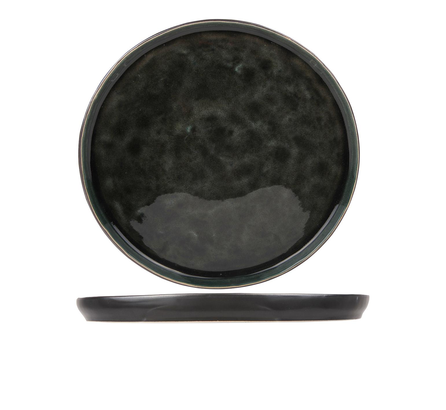 Тарелка для десерта 21,5 см COSY&amp;TRENDY Laguna verde 9327802Новинки<br>Тарелка для десерта 21,5 см COSY&amp;TRENDY Laguna verde 9327802<br><br>Эта коллекция из каменной керамики поражает удивительным цветом, текстурой и формой. Насыщенный темно-серый оттенок с волнистым рельефом погружают в прибрежную лагуну. Органические края для дополнительного дизайна. Коллекция Laguna Verde воссоздает исключительный внешний вид приготовленных блюд.<br>
