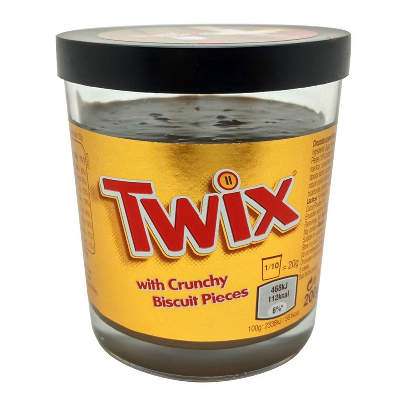 Шоколадная паста Twix  (200 гр)Свадьба<br>Вес: 200 гр<br>