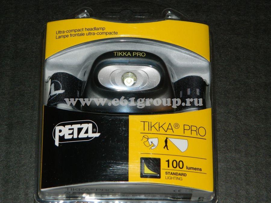 светодиодный фонарь Petzl TIKKA PRO черный отзывы