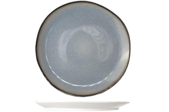 Тарелка для десерта 22,5 см COSY&amp;TRENDY Fez blue 7876168Тарелки<br>Тарелка для десерта 22,5 см COSY&amp;TRENDY Fez blue 7876168<br><br>Эта коллекция из каменной керамики поражает удивительным цветом, текстурой и формой. Насыщенный темно-синий оттенок с волнистым рельефом погружают в песчаную лагуну. Органические края для дополнительного дизайна. Коллекция FEZ Blue воссоздает исключительный внешний вид приготовленных блюд.<br>