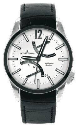 Jacques Lemans 1-1583C - мужские наручные часы из коллекции LiverpoolJacques Lemans<br><br><br>Бренд: Jacques Lemans<br>Модель: Jacques Lemans 1-1583C<br>Артикул: 1-1583C<br>Вариант артикула: None<br>Коллекция: Liverpool<br>Подколлекция: None<br>Страна: Австрия<br>Пол: мужские<br>Тип механизма: кварцевые<br>Механизм: None<br>Количество камней: None<br>Автоподзавод: None<br>Источник энергии: от батарейки<br>Срок службы элемента питания: None<br>Дисплей: стрелки<br>Цифры: арабские<br>Водозащита: WR 100<br>Противоударные: None<br>Материал корпуса: нерж. сталь, PVD покрытие (частичное)<br>Материал браслета: кожа, PVD покрытие (частичное): каучук<br>Материал безеля: None<br>Стекло: минеральное<br>Антибликовое покрытие: None<br>Цвет корпуса: None<br>Цвет браслета: None<br>Цвет циферблата: None<br>Цвет безеля: None<br>Размеры: 44x44 мм<br>Диаметр: None<br>Диаметр корпуса: None<br>Толщина: None<br>Ширина ремешка: None<br>Вес: None<br>Спорт-функции: None<br>Подсветка: стрелок<br>Вставка: None<br>Отображение даты: число<br>Хронограф: None<br>Таймер: None<br>Термометр: None<br>Хронометр: None<br>GPS: None<br>Радиосинхронизация: None<br>Барометр: None<br>Скелетон: None<br>Дополнительная информация: дополнительный каучуковый ремешок в комплекте<br>Дополнительные функции: второй часовой пояс