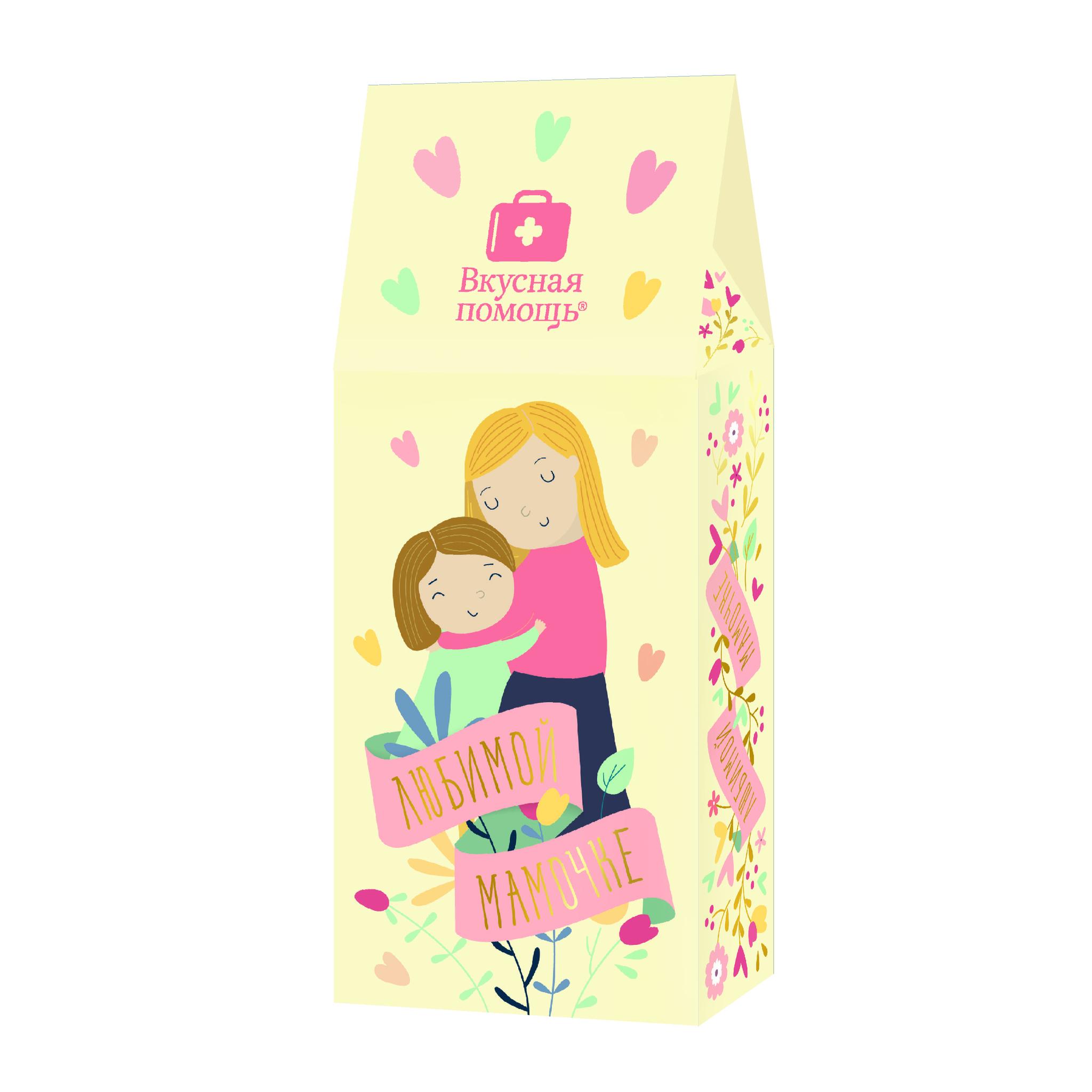 Чай «Любимой мамочке» 50 грЧай<br>Кому подарить: самому родному и любимому человеку - маме.<br>Упаковка и дизайн: коробка из экологичного картона<br>Что внутри:Чай Малина с мятой.<br>Вес: 50 гр.<br>