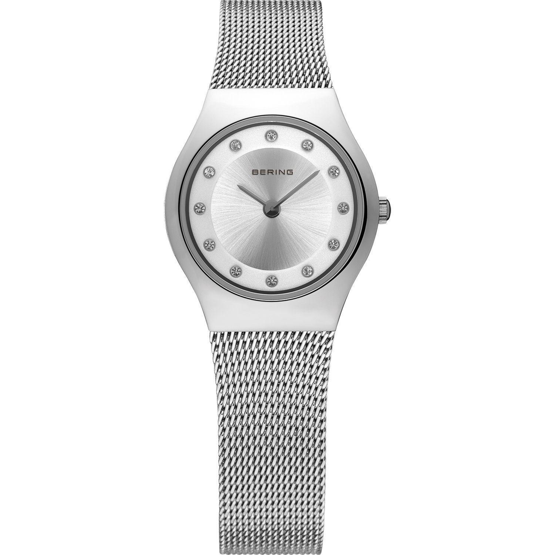 Bering 11923-000 - женские наручные часы из коллекции ClassicBering<br>женские, сапфировое стекло, корпус из нерж. стали,  браслет из нерж. стали, циферблат белого цвета с 12-ю кристаллами из стекла белого цвета<br><br>Бренд: Bering<br>Модель: Bering 11923-000<br>Артикул: 11923-000<br>Вариант артикула: ber-11923-000<br>Коллекция: Classic<br>Подколлекция: None<br>Страна: Дания<br>Пол: женские<br>Тип механизма: кварцевые<br>Механизм: None<br>Количество камней: None<br>Автоподзавод: None<br>Источник энергии: от батарейки<br>Срок службы элемента питания: None<br>Дисплей: стрелки<br>Цифры: отсутствуют<br>Водозащита: WR 30<br>Противоударные: None<br>Материал корпуса: нерж. сталь<br>Материал браслета: нерж. сталь<br>Материал безеля: None<br>Стекло: сапфировое<br>Антибликовое покрытие: None<br>Цвет корпуса: серебристый<br>Цвет браслета: серебрянный<br>Цвет циферблата: None<br>Цвет безеля: None<br>Размеры: 23 мм<br>Диаметр: 23 мм<br>Диаметр корпуса: None<br>Толщина: None<br>Ширина ремешка: None<br>Вес: None<br>Спорт-функции: None<br>Подсветка: None<br>Вставка: кристаллы Swarovski<br>Отображение даты: None<br>Хронограф: None<br>Таймер: None<br>Термометр: None<br>Хронометр: None<br>GPS: None<br>Радиосинхронизация: None<br>Барометр: None<br>Скелетон: None<br>Дополнительная информация: None<br>Дополнительные функции: None