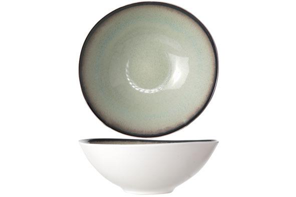 Тарелка для супа 18 см COSY&amp;TRENDY Fez green 9212167Новинки<br>Тарелка для супа 18 см COSY&amp;TRENDY Fez green 9212167<br><br>Эта коллекция из каменной керамики поражает удивительным цветом, текстурой и формой. Насыщенный темно-зеленый оттенок с волнистым рельефом погружают в песчаную лагуну. Органические края для дополнительного дизайна. Коллекция FEZ Green воссоздает исключительный внешний вид приготовленных блюд.<br>
