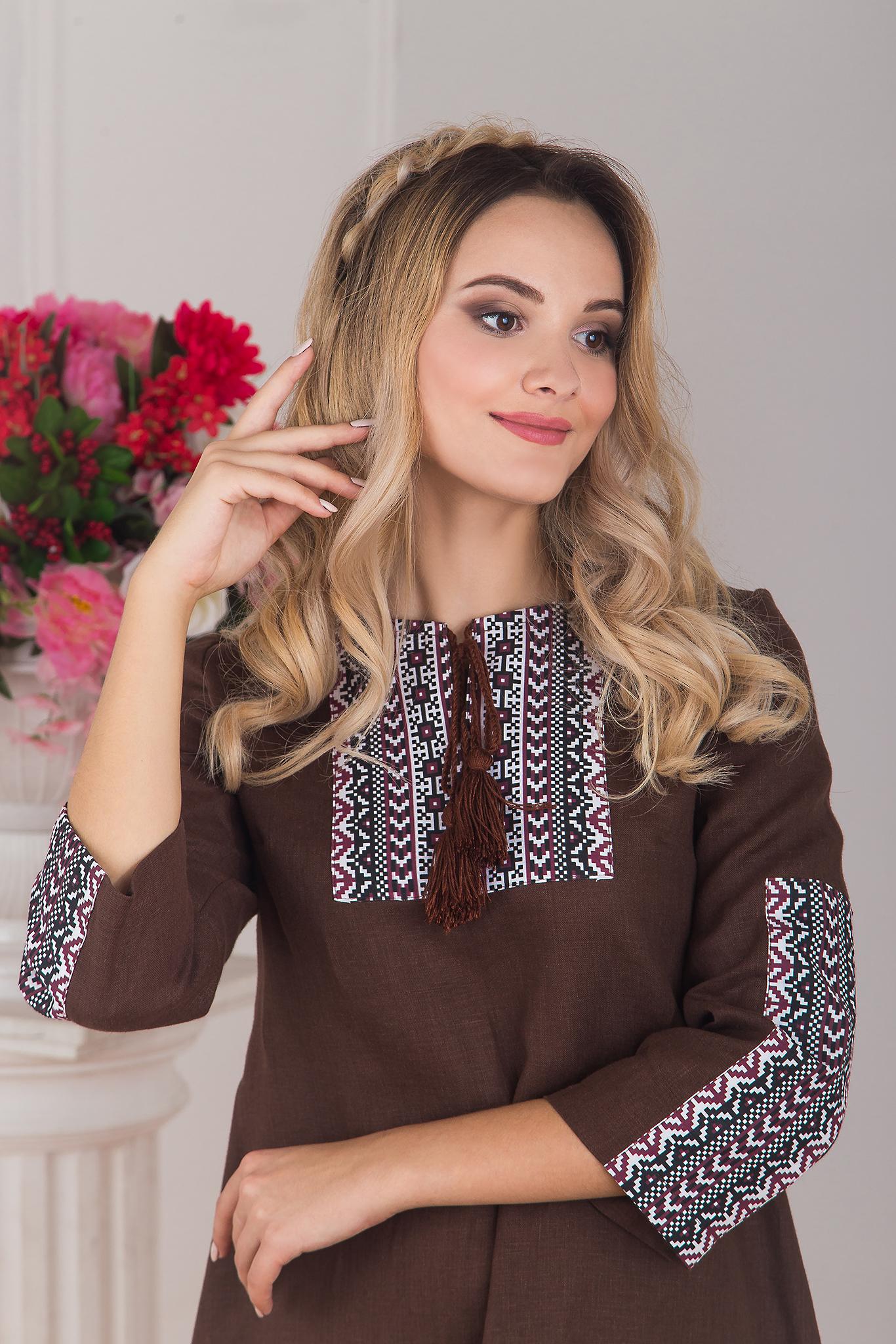 Платье из льна в стиле бохо рекомендации
