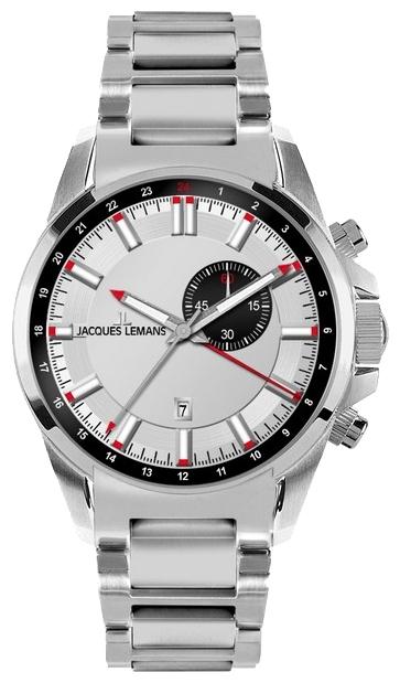Jacques Lemans 1-1653E - мужские наручные часы из коллекции LiverpoolJacques Lemans<br><br><br>Бренд: Jacques Lemans<br>Модель: Jacques Lemans 1-1653E<br>Артикул: 1-1653E<br>Вариант артикула: None<br>Коллекция: Liverpool<br>Подколлекция: None<br>Страна: Австрия<br>Пол: мужские<br>Тип механизма: кварцевые<br>Механизм: None<br>Количество камней: None<br>Автоподзавод: None<br>Источник энергии: от батарейки<br>Срок службы элемента питания: None<br>Дисплей: стрелки<br>Цифры: отсутствуют<br>Водозащита: WR 100<br>Противоударные: None<br>Материал корпуса: нерж. сталь<br>Материал браслета: нерж. сталь<br>Материал безеля: None<br>Стекло: минеральное<br>Антибликовое покрытие: None<br>Цвет корпуса: None<br>Цвет браслета: None<br>Цвет циферблата: None<br>Цвет безеля: None<br>Размеры: 44 мм<br>Диаметр: None<br>Диаметр корпуса: None<br>Толщина: None<br>Ширина ремешка: None<br>Вес: None<br>Спорт-функции: None<br>Подсветка: стрелок<br>Вставка: None<br>Отображение даты: None<br>Хронограф: None<br>Таймер: None<br>Термометр: None<br>Хронометр: None<br>GPS: None<br>Радиосинхронизация: None<br>Барометр: None<br>Скелетон: None<br>Дополнительная информация: None<br>Дополнительные функции: второй часовой пояс, будильник