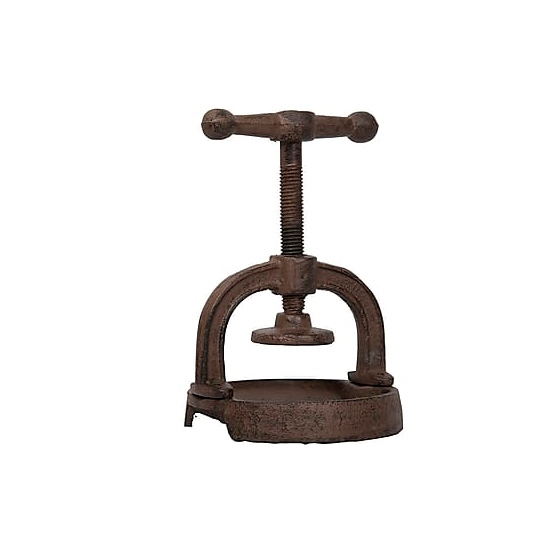Орехоколка PRESSE (Мебель и предметы интерьера)Мебель и предметы интерьера<br>Орехоколка PRESSE<br>17х12 см<br>Металл<br>Производитель: Antic Line, Франция<br>