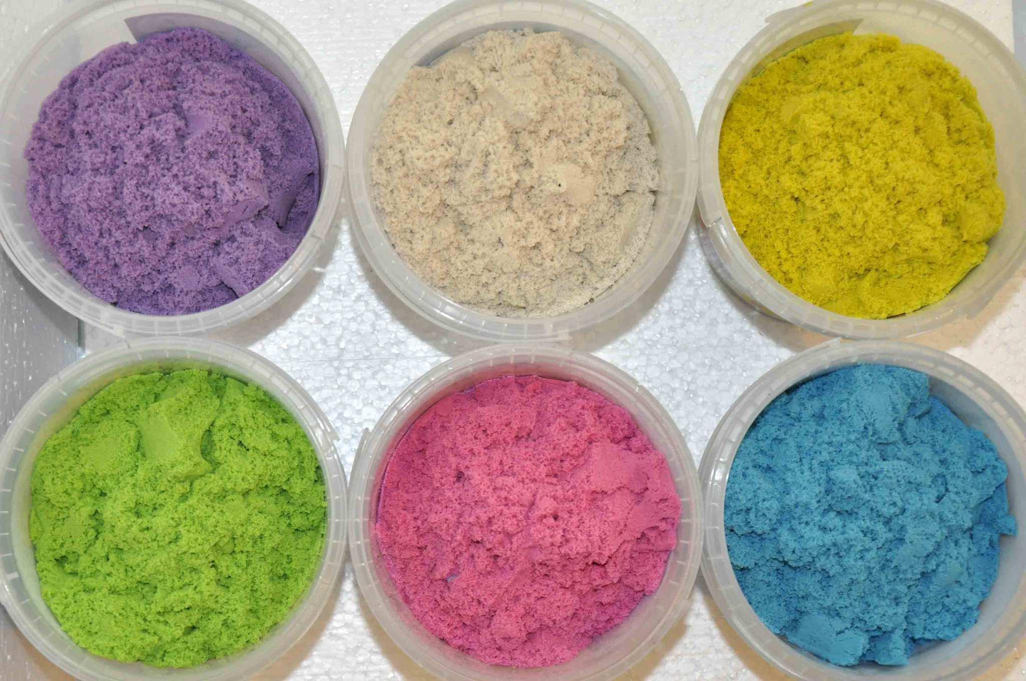 Как сделать рассыпчатый песок