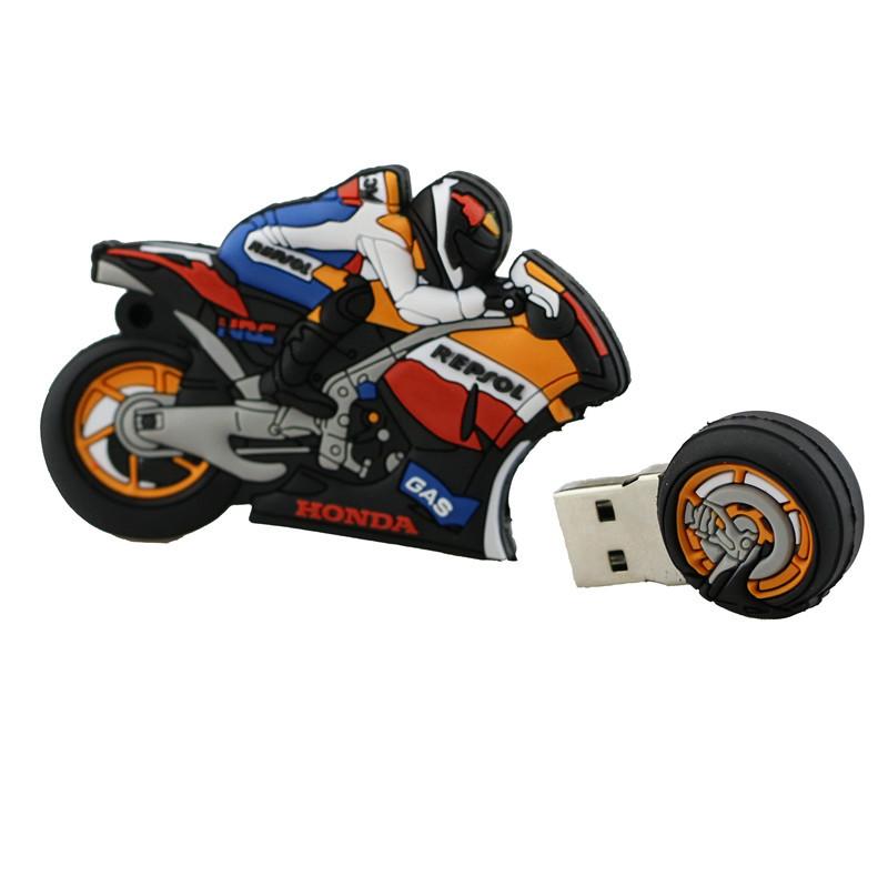 Флешка мотоцикл в подарок 50