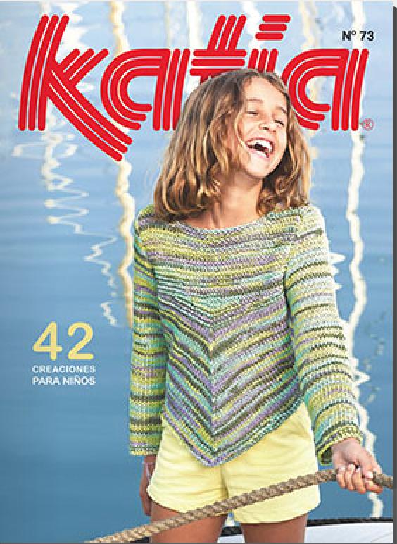 Журнал для вязания katia