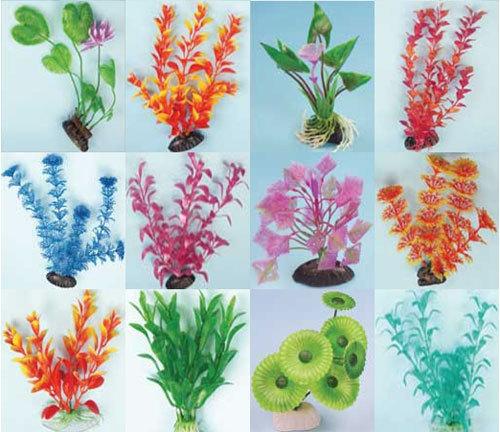 Искусственные растения в аквариум
