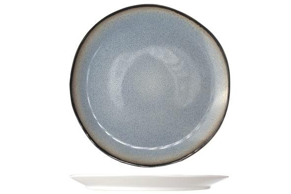 Тарелка для ужина 28 см COSY&amp;TRENDY Fez blue 7876169Новинки<br>Тарелка для ужина 28 см COSY&amp;TRENDY Fez blue 7876169<br><br>Эта коллекция из каменной керамики поражает удивительным цветом, текстурой и формой. Насыщенный темно-синий оттенок с волнистым рельефом погружают в песчаную лагуну. Органические края для дополнительного дизайна. Коллекция FEZ Blue воссоздает исключительный внешний вид приготовленных блюд.<br>
