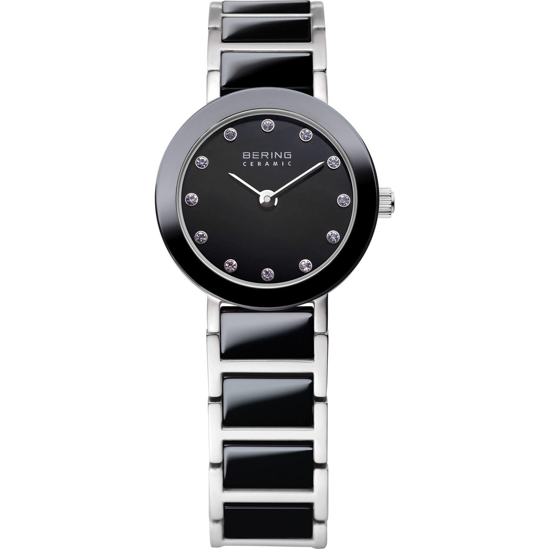 Bering 11422-742 - женские наручные часы из коллекции CeramicBering<br>женские, сапфировое стекло, корпус из нерж. стали с безелем из керамики черного цвета,браслет из нерж. стали со вставками из керамики черного цвета и 2-мя дополнительными звеньями в комплекте, циферблат черного цвета с 12-ю кристаллами  swarovski<br><br>Бренд: Bering<br>Модель: Bering 11422-742<br>Артикул: 11422-742<br>Вариант артикула: ber-11422-742<br>Коллекция: Ceramic<br>Подколлекция: None<br>Страна: Дания<br>Пол: женские<br>Тип механизма: кварцевые<br>Механизм: None<br>Количество камней: None<br>Автоподзавод: None<br>Источник энергии: от батарейки<br>Срок службы элемента питания: None<br>Дисплей: стрелки<br>Цифры: отсутствуют<br>Водозащита: WR 50<br>Противоударные: None<br>Материал корпуса: нерж. сталь + керамика<br>Материал браслета: нерж. сталь + керамика<br>Материал безеля: керамика<br>Стекло: сапфировое<br>Антибликовое покрытие: None<br>Цвет корпуса: серебристый<br>Цвет браслета: серебрянный<br>Цвет циферблата: None<br>Цвет безеля: черный<br>Размеры: 22 мм<br>Диаметр: 22 мм<br>Диаметр корпуса: None<br>Толщина: None<br>Ширина ремешка: None<br>Вес: None<br>Спорт-функции: None<br>Подсветка: None<br>Вставка: None<br>Отображение даты: None<br>Хронограф: None<br>Таймер: None<br>Термометр: None<br>Хронометр: None<br>GPS: None<br>Радиосинхронизация: None<br>Барометр: None<br>Скелетон: None<br>Дополнительная информация: None<br>Дополнительные функции: None
