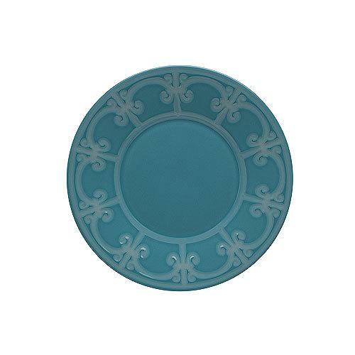 Десертная тарелка Фарфор и керамика Casa Alegre<br>Десертная тарелка Серия Коттедж<br>Материал: Керамика, цвет Синий<br>Диам.220 мм, высота 29 мм<br>Бренд: Casa Alegre<br>Производитель: Vista Alegre Atlantis, Португалия<br>