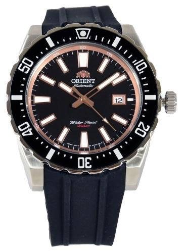 Orient AC09003B / FAC09003B0 - мужские наручные часыORIENT<br><br><br>Бренд: ORIENT<br>Модель: ORIENT AC09003B<br>Артикул: AC09003B<br>Вариант артикула: FAC09003B0<br>Коллекция: None<br>Подколлекция: None<br>Страна: Япония<br>Пол: мужские<br>Тип механизма: механические<br>Механизм: F67<br>Количество камней: None<br>Автоподзавод: есть<br>Источник энергии: пружинный механизм<br>Срок службы элемента питания: None<br>Дисплей: стрелки<br>Цифры: отсутствуют<br>Водозащита: WR 200<br>Противоударные: None<br>Материал корпуса: нерж. сталь, PVD покрытие (частичное)<br>Материал браслета: каучук<br>Материал безеля: None<br>Стекло: минеральное<br>Антибликовое покрытие: None<br>Цвет корпуса: None<br>Цвет браслета: None<br>Цвет циферблата: None<br>Цвет безеля: None<br>Размеры: None<br>Диаметр: None<br>Диаметр корпуса: 46<br>Толщина: None<br>Ширина ремешка: 24 см<br>Вес: None<br>Спорт-функции: None<br>Подсветка: стрелок<br>Вставка: None<br>Отображение даты: число<br>Хронограф: None<br>Таймер: None<br>Термометр: None<br>Хронометр: None<br>GPS: None<br>Радиосинхронизация: None<br>Барометр: None<br>Скелетон: None<br>Дополнительная информация: None<br>Дополнительные функции: None