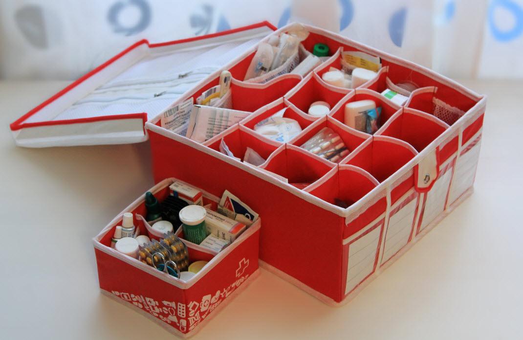 Сделать удобную аптечку своими руками