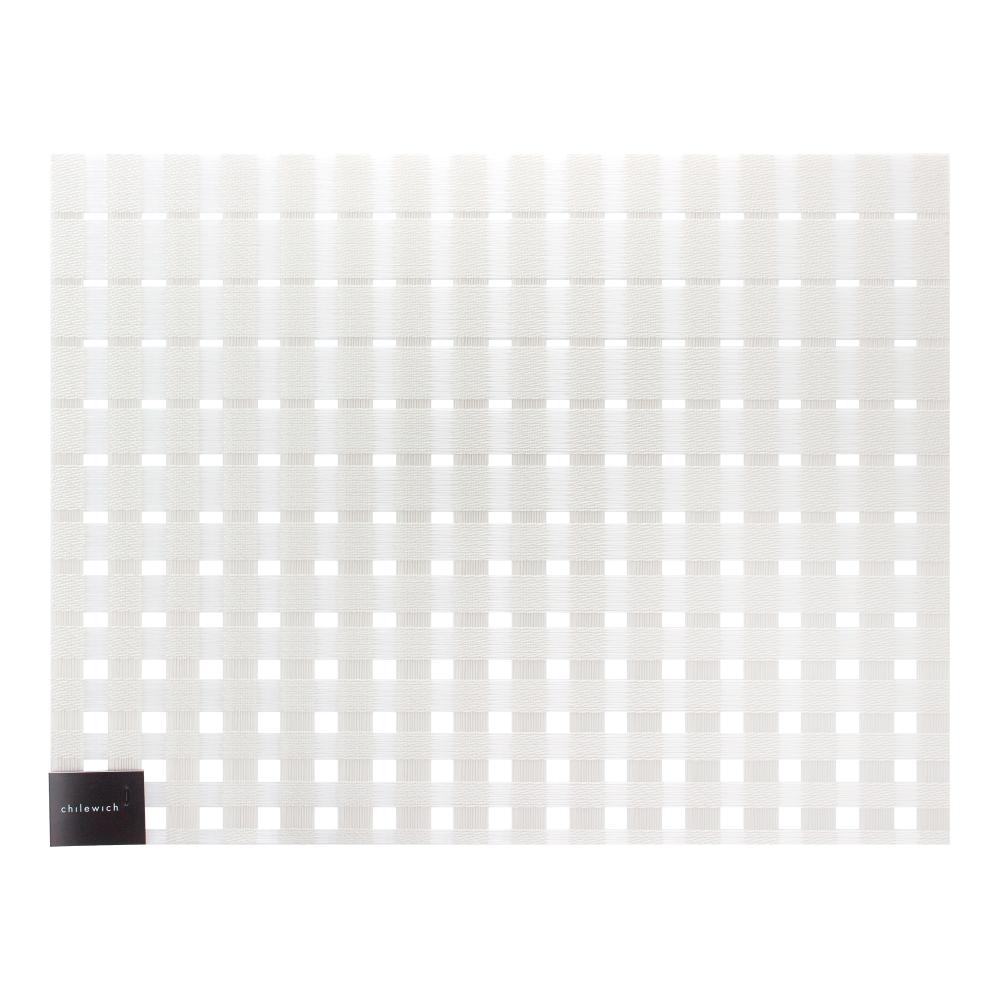Салфетка подстановочная, винил, (36х48) Glass CHILEWICH Satin арт. 100398-001Сервировка стола<br>длина (см):36материал:винилпредметов в наборе (штук):1страна:СШАширина (см):48.0<br>Официальный продавец CHILEWICH<br>