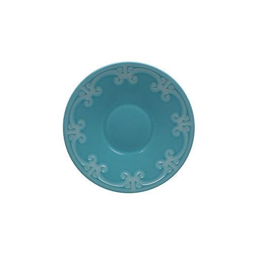Бутербродная тарелка Фарфор и керамика Casa Alegre, Португалия<br>Бутербродная тарелка Серия Коттедж<br>Материал: Керамика, цвет Синий<br>Диам.180 мм, высота 30 мм<br>Бренд: Casa Alegre<br>Производитель: Vista Alegre Atlantis, Португалия<br>