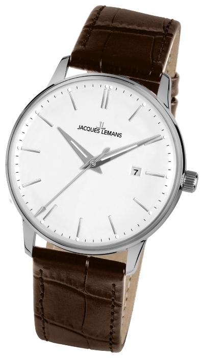 Jacques Lemans N-213K - мужские наручные часы из коллекции ClassicJacques Lemans<br><br><br>Бренд: Jacques Lemans<br>Модель: Jacques Lemans N-213K<br>Артикул: N-213K<br>Вариант артикула: None<br>Коллекция: Classic<br>Подколлекция: None<br>Страна: Австрия<br>Пол: мужские<br>Тип механизма: кварцевые<br>Механизм: None<br>Количество камней: None<br>Автоподзавод: None<br>Источник энергии: от батарейки<br>Срок службы элемента питания: None<br>Дисплей: стрелки<br>Цифры: отсутствуют<br>Водозащита: WR 50<br>Противоударные: None<br>Материал корпуса: нерж. сталь<br>Материал браслета: кожа<br>Материал безеля: None<br>Стекло: пластиковое<br>Антибликовое покрытие: None<br>Цвет корпуса: None<br>Цвет браслета: None<br>Цвет циферблата: None<br>Цвет безеля: None<br>Размеры: 42 мм<br>Диаметр: None<br>Диаметр корпуса: None<br>Толщина: None<br>Ширина ремешка: None<br>Вес: None<br>Спорт-функции: None<br>Подсветка: None<br>Вставка: None<br>Отображение даты: число<br>Хронограф: None<br>Таймер: None<br>Термометр: None<br>Хронометр: None<br>GPS: None<br>Радиосинхронизация: None<br>Барометр: None<br>Скелетон: None<br>Дополнительная информация: None<br>Дополнительные функции: None