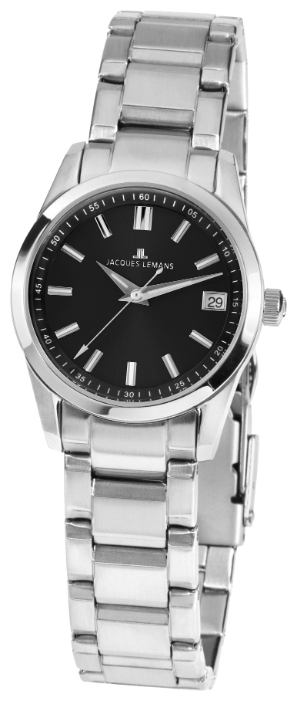Jacques Lemans 1-1811A - женские наручные часы из коллекции LiverpoolJacques Lemans<br><br><br>Бренд: Jacques Lemans<br>Модель: Jacques Lemans 1-1811A<br>Артикул: 1-1811A<br>Вариант артикула: None<br>Коллекция: Liverpool<br>Подколлекция: None<br>Страна: Австрия<br>Пол: женские<br>Тип механизма: кварцевые<br>Механизм: None<br>Количество камней: None<br>Автоподзавод: None<br>Источник энергии: от батарейки<br>Срок службы элемента питания: None<br>Дисплей: стрелки<br>Цифры: отсутствуют<br>Водозащита: WR 30<br>Противоударные: None<br>Материал корпуса: нерж. сталь<br>Материал браслета: нерж. сталь<br>Материал безеля: None<br>Стекло: минеральное<br>Антибликовое покрытие: None<br>Цвет корпуса: None<br>Цвет браслета: None<br>Цвет циферблата: None<br>Цвет безеля: None<br>Размеры: 30 мм<br>Диаметр: None<br>Диаметр корпуса: None<br>Толщина: None<br>Ширина ремешка: None<br>Вес: None<br>Спорт-функции: None<br>Подсветка: стрелок<br>Вставка: None<br>Отображение даты: число<br>Хронограф: None<br>Таймер: None<br>Термометр: None<br>Хронометр: None<br>GPS: None<br>Радиосинхронизация: None<br>Барометр: None<br>Скелетон: None<br>Дополнительная информация: None<br>Дополнительные функции: None