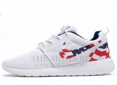 Кроссовки Женские Nike Roshe Run White USA