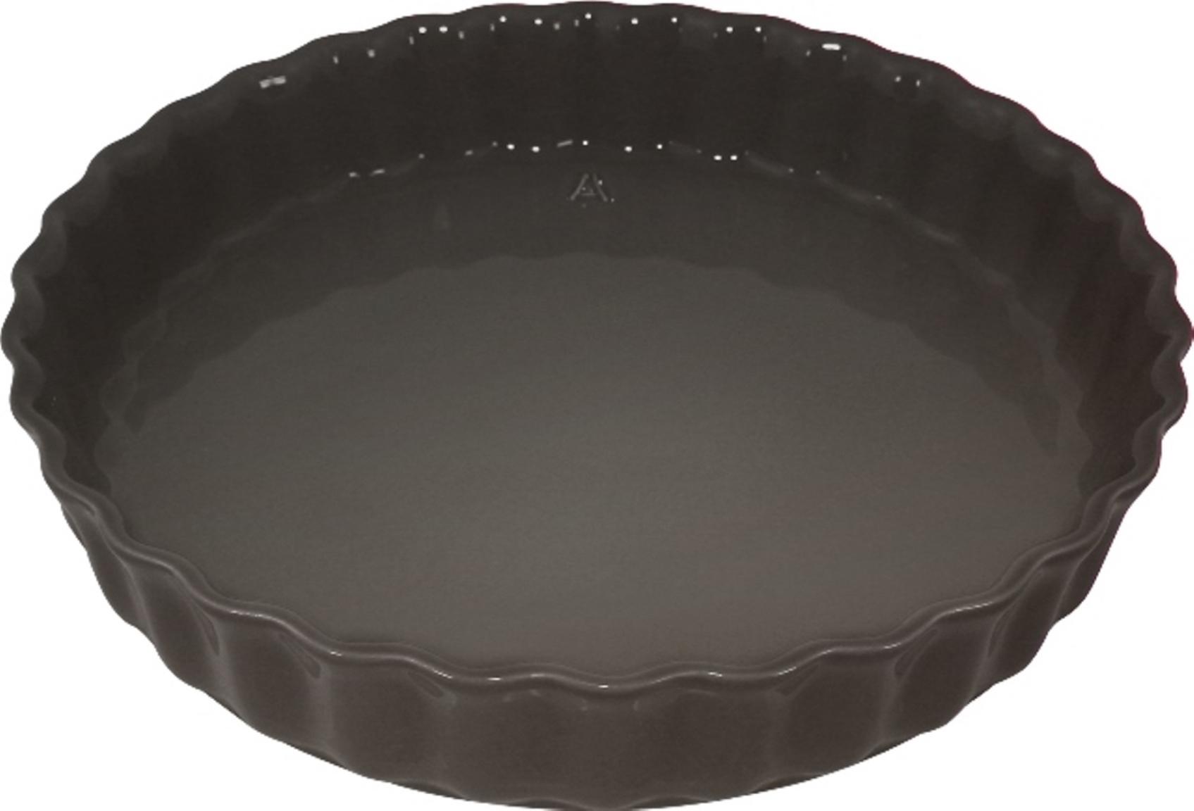 Форма для пирога 28 см Appolia Delices DARK GREY 11028044Формы для запекания (выпечки)<br>Форма для пирога 28 см Appolia Delices DARK GREY 11028044<br><br>Благодаря большому разнообразию изящных форм и широкой цветовой гамме, коллекция DELICES предлагает всевозможные варианты приготовления блюд для себя и гостей. Выбирайте цвета в соответствии с вашими желаниями и вашей кухне. Закругленные углы облегчают чистку. Легко использовать. Большие удобные ручки. Прочная жароустойчивая керамика экологична и изготавливается из высококачественной глины. Прочная глазурь устойчива к растрескиванию и сколам, не содержит свинца и кадмия. Глина обеспечивает медленный и равномерный нагрев, деликатное приготовление с сохранением всех питательных веществ и витаминов, а та же долго сохраняет тепло, что удобно при сервировке горячих блюд.<br>