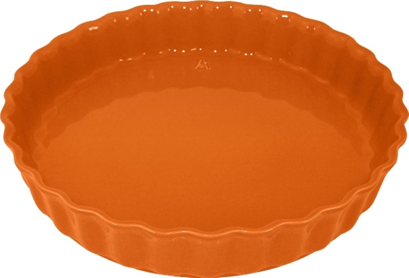 Форма для пирога 28 см Appolia Delices MANDARINE 11028073Формы для запекания (выпечки)<br>Форма для пирога 28 см Appolia Delices MANDARINE 11028073<br><br>Благодаря большому разнообразию изящных форм и широкой цветовой гамме, коллекция DELICES предлагает всевозможные варианты приготовления блюд для себя и гостей. Выбирайте цвета в соответствии с вашими желаниями и вашей кухне. Закругленные углы облегчают чистку. Легко использовать. Большие удобные ручки. Прочная жароустойчивая керамика экологична и изготавливается из высококачественной глины. Прочная глазурь устойчива к растрескиванию и сколам, не содержит свинца и кадмия. Глина обеспечивает медленный и равномерный нагрев, деликатное приготовление с сохранением всех питательных веществ и витаминов, а та же долго сохраняет тепло, что удобно при сервировке горячих блюд.<br>