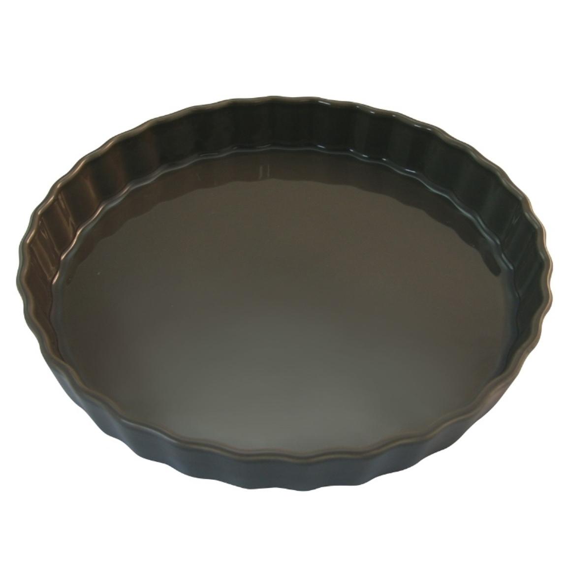 Форма для пирога 30 см Appolia Delices DARK GREY 10530044Формы для запекания (выпечки)<br>Форма для пирога 30 см Appolia Delices DARK GREY 10530044<br><br>Благодаря большому разнообразию изящных форм и широкой цветовой гамме, коллекция DELICES предлагает всевозможные варианты приготовления блюд для себя и гостей. Выбирайте цвета в соответствии с вашими желаниями и вашей кухне. Закругленные углы облегчают чистку. Легко использовать. Большие удобные ручки. Прочная жароустойчивая керамика экологична и изготавливается из высококачественной глины. Прочная глазурь устойчива к растрескиванию и сколам, не содержит свинца и кадмия. Глина обеспечивает медленный и равномерный нагрев, деликатное приготовление с сохранением всех питательных веществ и витаминов, а та же долго сохраняет тепло, что удобно при сервировке горячих блюд.<br>