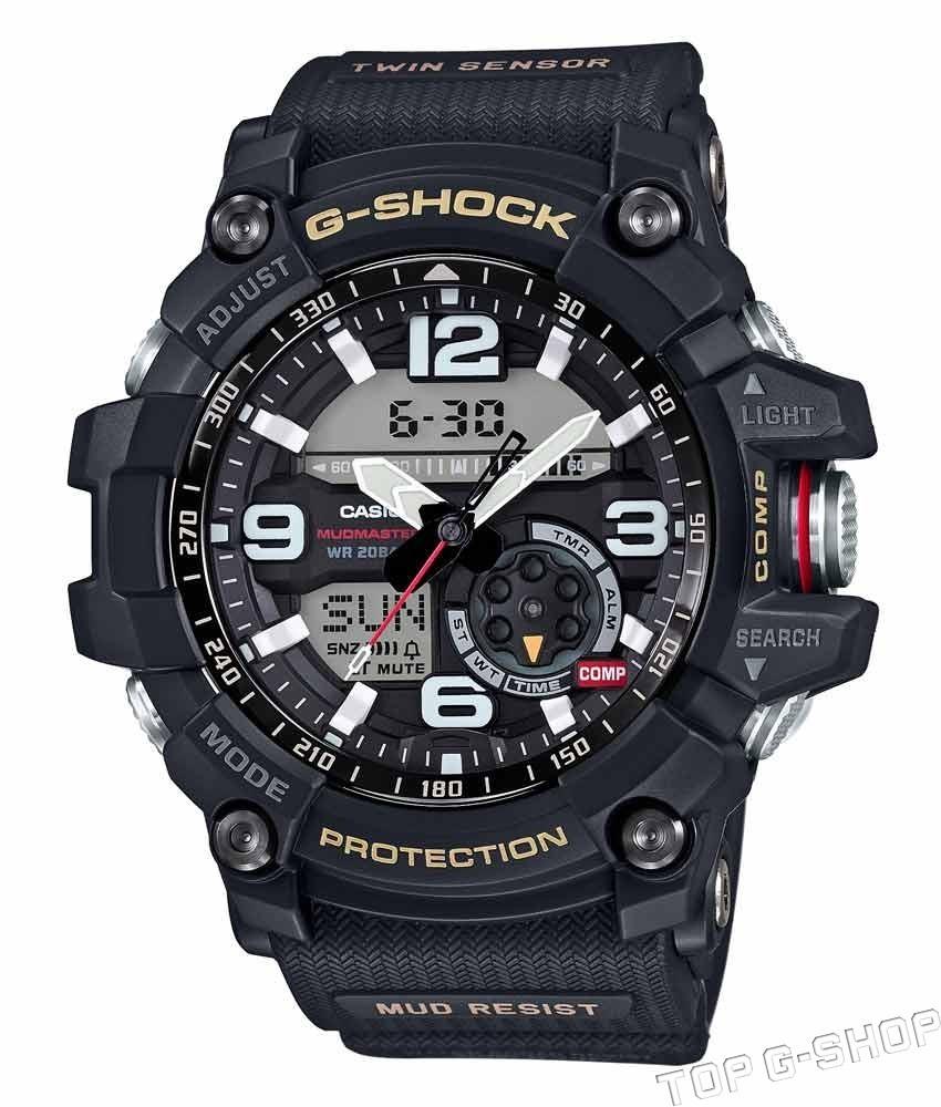 Casio G-SHOCK GG-1000-1A / GG-1000-1AER - мужские наручные часыCasio<br><br><br>Бренд: Casio<br>Модель: Casio GG-1000-1A<br>Артикул: GG-1000-1A<br>Вариант артикула: GG-1000-1AER<br>Коллекция: G-SHOCK<br>Подколлекция: MUDMASTER<br>Страна: Япония<br>Пол: мужские<br>Тип механизма: кварцевые<br>Механизм: None<br>Количество камней: None<br>Автоподзавод: None<br>Источник энергии: от батарейки<br>Срок службы элемента питания: None<br>Дисплей: None<br>Цифры: арабские<br>Водозащита: WR 200<br>Противоударные: есть<br>Материал корпуса: нерж. сталь + пластик<br>Материал браслета: каучук<br>Материал безеля: None<br>Стекло: сапфировое<br>Антибликовое покрытие: None<br>Цвет корпуса: None<br>Цвет браслета: None<br>Цвет циферблата: None<br>Цвет безеля: None<br>Размеры: 55.3x56.2x17.1 мм<br>Диаметр: None<br>Диаметр корпуса: None<br>Толщина: None<br>Ширина ремешка: None<br>Вес: 92 г<br>Спорт-функции: секундомер, таймер обратного отсчета, термометр, компас<br>Подсветка: дисплея, стрелок<br>Вставка: None<br>Отображение даты: вечный календарь, число, день недели<br>Хронограф: None<br>Таймер: None<br>Термометр: None<br>Хронометр: None<br>GPS: None<br>Радиосинхронизация: None<br>Барометр: None<br>Скелетон: None<br>Дополнительная информация: None<br>Дополнительные функции: второй часовой пояс, будильник (количество установок: 5)