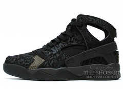 Кроссовки Мужские Nike Air Flight Huarache Street Black
