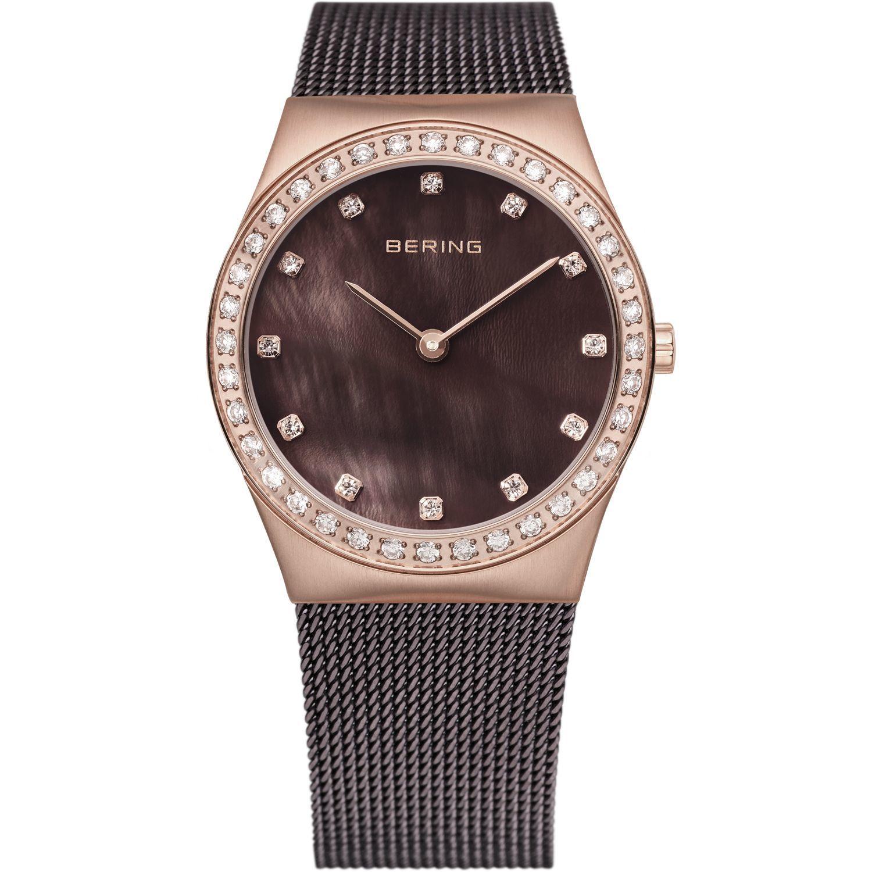 Bering 12430-262 - женские наручные часы из коллекции ClassicBering<br>rose gold, шоколадный миланский браслет, перламутровый циферблат, сапфировое стекло<br><br>Бренд: Bering<br>Модель: Bering 12430-262<br>Артикул: 12430-262<br>Вариант артикула: ber-12430-262<br>Коллекция: Classic<br>Подколлекция: None<br>Страна: Дания<br>Пол: женские<br>Тип механизма: кварцевые<br>Механизм: None<br>Количество камней: None<br>Автоподзавод: None<br>Источник энергии: от батарейки<br>Срок службы элемента питания: None<br>Дисплей: стрелки<br>Цифры: отсутствуют<br>Водозащита: WR 50<br>Противоударные: None<br>Материал корпуса: нерж. сталь, PVD покрытие: позолота (полное)<br>Материал браслета: нерж. сталь, PVD покрытие (полное)<br>Материал безеля: None<br>Стекло: сапфировое<br>Антибликовое покрытие: None<br>Цвет корпуса: розовое золото<br>Цвет браслета: коричневый<br>Цвет циферблата: None<br>Цвет безеля: None<br>Размеры: 30 мм<br>Диаметр: 30 мм<br>Диаметр корпуса: None<br>Толщина: None<br>Ширина ремешка: None<br>Вес: None<br>Спорт-функции: None<br>Подсветка: None<br>Вставка: кристаллы Swarovski<br>Отображение даты: None<br>Хронограф: None<br>Таймер: None<br>Термометр: None<br>Хронометр: None<br>GPS: None<br>Радиосинхронизация: None<br>Барометр: None<br>Скелетон: None<br>Дополнительная информация: None<br>Дополнительные функции: None