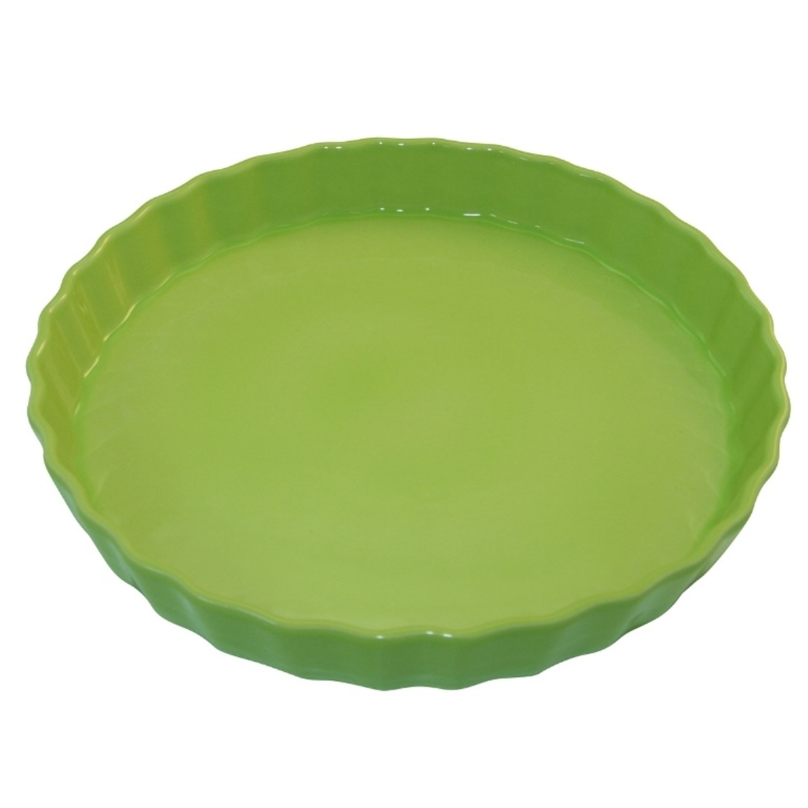 Форма для пирога 30 см Appolia Delices LIME 10530027Формы для запекания (выпечки)<br>Форма для пирога 30 см Appolia Delices LIME 10530027<br><br>Благодаря большому разнообразию изящных форм и широкой цветовой гамме, коллекция DELICES предлагает всевозможные варианты приготовления блюд для себя и гостей. Выбирайте цвета в соответствии с вашими желаниями и вашей кухне. Закругленные углы облегчают чистку. Легко использовать. Большие удобные ручки. Прочная жароустойчивая керамика экологична и изготавливается из высококачественной глины. Прочная глазурь устойчива к растрескиванию и сколам, не содержит свинца и кадмия. Глина обеспечивает медленный и равномерный нагрев, деликатное приготовление с сохранением всех питательных веществ и витаминов, а та же долго сохраняет тепло, что удобно при сервировке горячих блюд.<br>