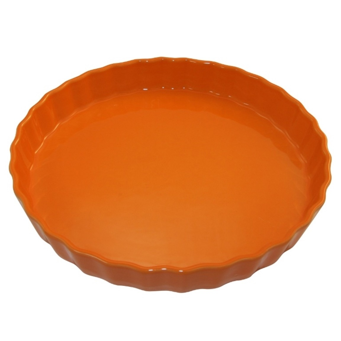 Форма для пирога 30 см Appolia Delices MANDARINE 10530073Формы для запекания (выпечки)<br>Форма для пирога 30 см Appolia Delices MANDARINE 10530073<br><br>Благодаря большому разнообразию изящных форм и широкой цветовой гамме, коллекция DELICES предлагает всевозможные варианты приготовления блюд для себя и гостей. Выбирайте цвета в соответствии с вашими желаниями и вашей кухне. Закругленные углы облегчают чистку. Легко использовать. Большие удобные ручки. Прочная жароустойчивая керамика экологична и изготавливается из высококачественной глины. Прочная глазурь устойчива к растрескиванию и сколам, не содержит свинца и кадмия. Глина обеспечивает медленный и равномерный нагрев, деликатное приготовление с сохранением всех питательных веществ и витаминов, а та же долго сохраняет тепло, что удобно при сервировке горячих блюд.<br>